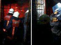 Tarsus Hali'nde yangın: 4 işyeri küle döndü