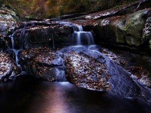 Kabaceviz Şelaleleri'nde sonbahar şöleni