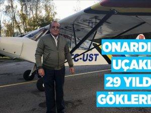 Onardığı uçakla 29 yıldır göklerde