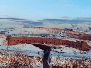 Kış şehri Erzurum beyaza büründü