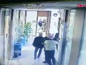 Çukurova Belediyesi'ndeki silahlı saldırı anı kamerada