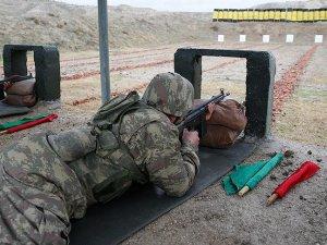 Bedelli askerlik eğitiminin görüntüleri