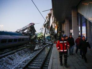 Ankara'daki YHT kazasından ilk görüntüler