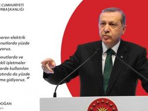 Erdoğan müjdeyi verdi: elektrik ve doğal gaza indirim geliyor!