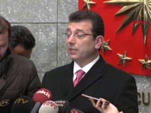 Cumhurbaşkanı Erdoğan'la görüşen İmamoğlu'ndan ilk açıklama