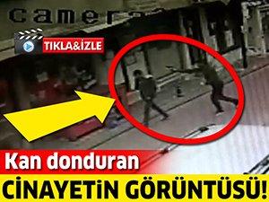 Kan donduran cinayetin görüntüsü!