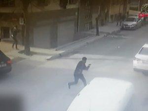 Esenyurt'ta silahlı saldırı dehşeti kamerada