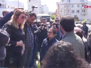 Kadın emniyet amirinden HDP'li vekile tarihi ayar:  Kanun ve nizam var