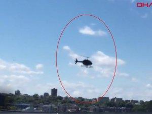 ABD'de helikopter nehre düştü