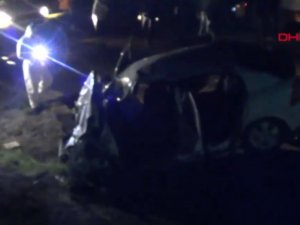Tokat'ta feci kaza: 2 polis olay yerinde öldü