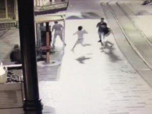 İstiklal Caddesi'ndeki dehşetin güvenlik kamerası görüntüleri