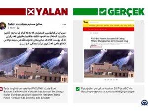 Barış Pınarı Harekatı'nda 'fosfor bombası kullanıldı' dezenformasyonu