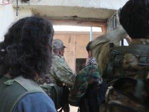 YPG/PKK'lı teröristlerle çatışma anları