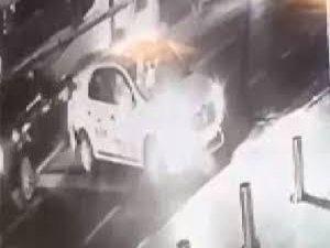 Şişli'de cipe silahlı saldırının görüntüleri ortaya çıktı