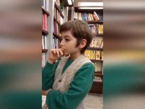 10 yaşındaki atakan 5 ayda 250 kitap okudu!