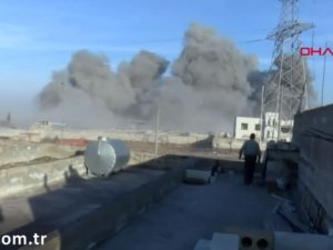 İdlib'de rejim unsurları böyle vuruluyor