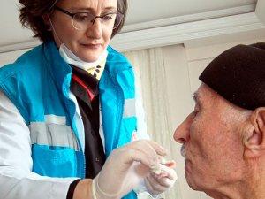 """""""EVDE""""yi tuşladı, evine diş kliniği geldi"""