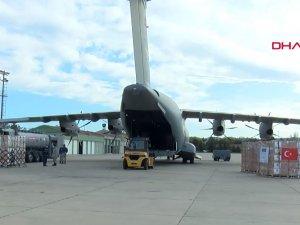 Airbus A400M Ankara'ya iniş yaptı