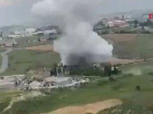İstanbul Başakşehir'de bir fabrikada patlama meydana geldi