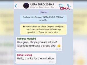 EURO2020 A Grubu'nda mücadele edecek teknik direktörlerin Whatsapp sohbeti