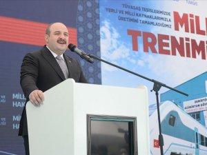 Bakan Mustafa Varank: Milli elektrikli trenimizin bugün itibarıyla fabrika testlerine başlanıyor