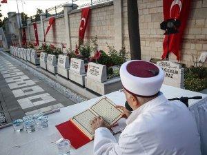 '15 Temmuz Şehitleri Hatim Programı' başladı