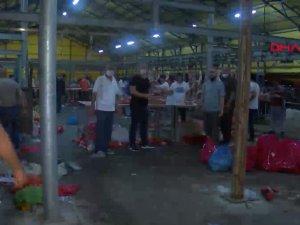 Başakşehir'de 04.00'da kurban kesim tartışması; 'Kasaplar kaçtı' iddiası