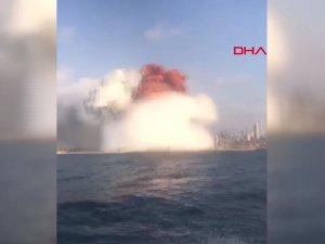 Lübnan'ın başkenti Beyrut limanında patlama