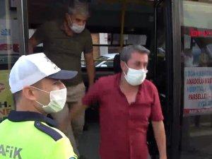 Esenyurt'ta yine aynı manzara; 36 yolcu taşıyan minibüsçüye ceza