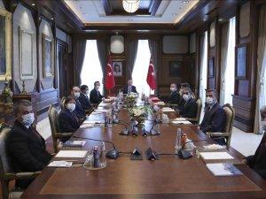Cumhurbaşkanı Erdoğan AA Yönetim Kurulu üyelerini kabul etti