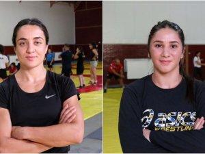 Kadın milli güreşçilerin hedefi olimpiyatlarda madalya
