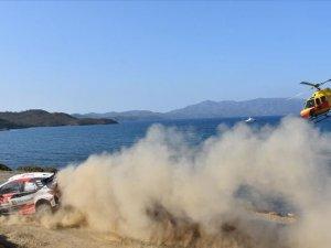 Türkiye Rallisi'nin son gününde yarışlar başladı