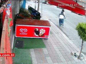 Suç makinesi kapkaççılar önce kameraya sonra polise yakalandı