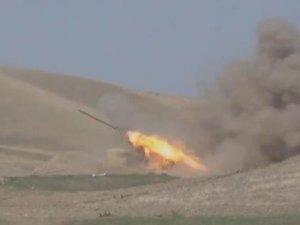 Azerbaycan ordusundan Ermeni güçlerine ağır darbe