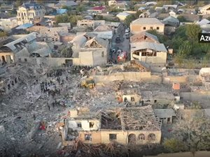 Ermenistan ordusu Azerbaycan'ın Gence ve Mingeçevir kentlerine füze saldırısı düzenledi: 13 sivil hayatını kaybetti