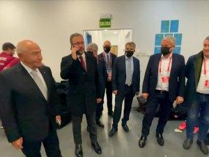 Cumhurbaşkanı Erdoğan A Milli Futbol Takımı'nı tebrik etti