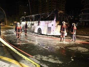 Ankara'da feci kaza: Facianın eşiğinde dönüldü