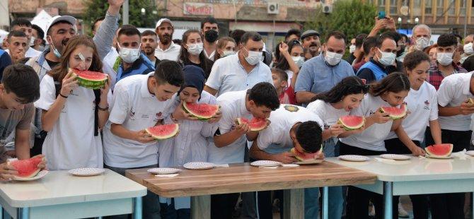 Diyarbakır 11'inci Karpuz Festivali: Renkli görüntülere sahne oldu