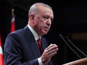 """Cumhurbaşkanı Erdoğan: """"Tüm ülkeler elini taşın altına koymalı"""""""