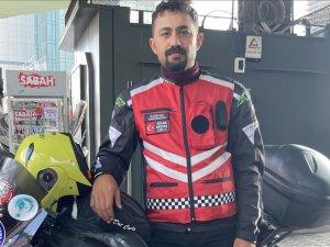 Motosikletli kuryeler hız puanının kalkmasını, mesleki standart ve eğitim istiyor