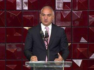 Bakan Ersoy AKM açılışında konuştu