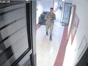 Şehit Halisdemir'in son anları güvenlik kameralarında
