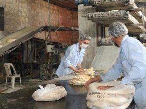 İHH Suriye'de ekmek fırını açtı