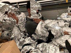 Göçmenleri kaçırmak için alüminyum folyoya sardılar