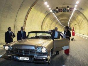 Başbakan Yıldırım, Sabuncubeli Tüneli'nin açılışına katıldı