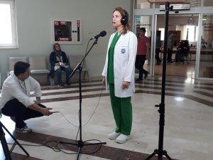 Doktorlar 'Sağlık İçin Çal'dı