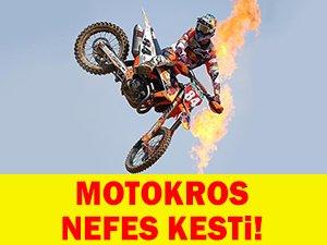 Dünya Motokros Şampiyonası nefes kesti!