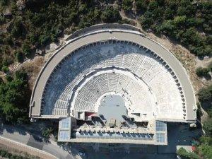 'Mühendislik harikası' Aspendos asırlara meydan okuyor