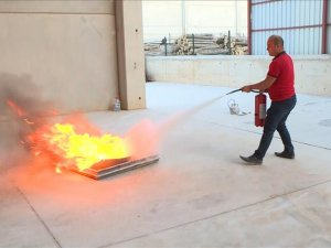 Bor madeninden yangın söndürme tozu ürettiler
