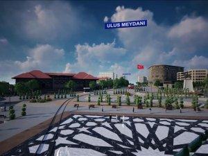 Ankara Ulus Meydanı Projesi